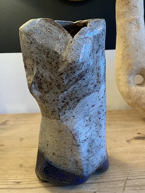 Ceramic Female Figure Vase