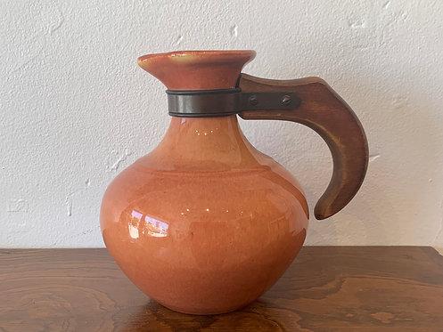 Peach Ceramic Pitcher