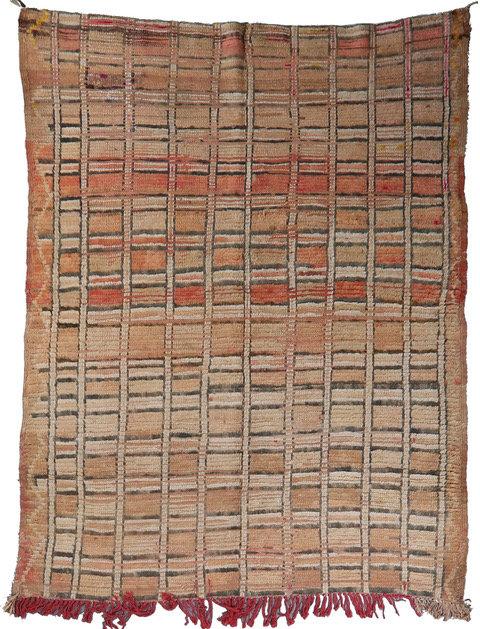 Vintage Boujad Moroccan Abstract Area Rug