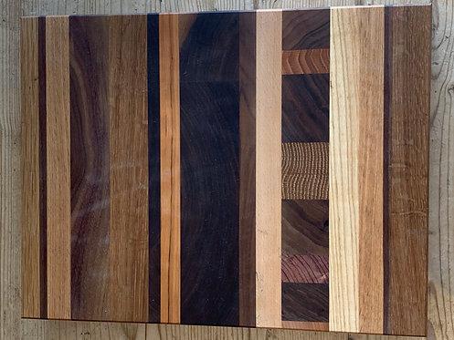 ' Abstract Linear' Handmade Cutting Board