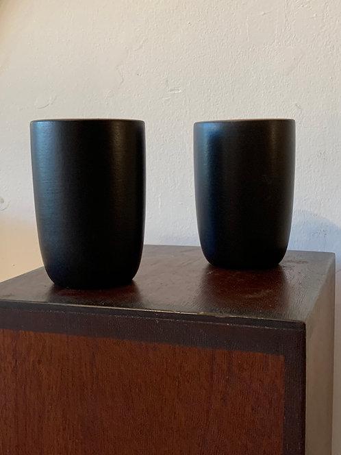 """Vintage Ceramic Black """" Heath """" Mug"""
