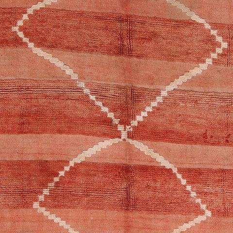 1960's Vintage Berber Boujad Rug