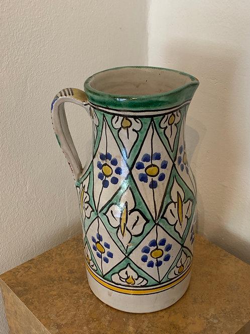 Vintage Ceramic Moroccan Vase