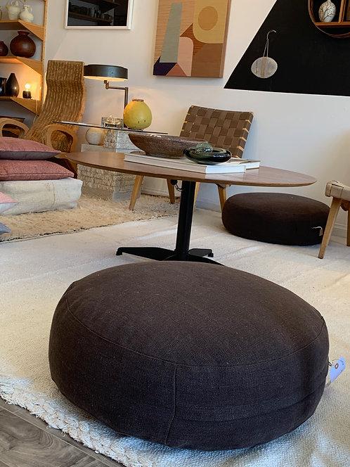 Brown Meditation Floor Pillow