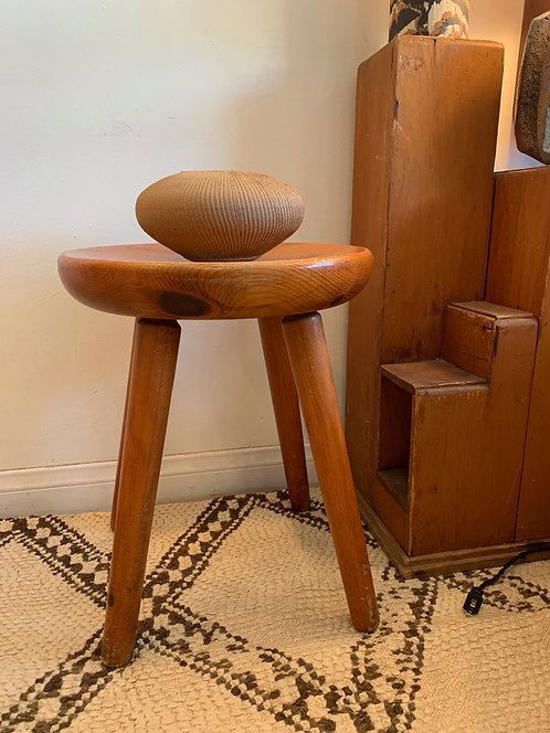 French Wooden Handmade Stool