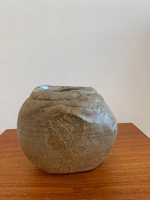 Vintage Japanese Ceramic Stoneware Vase