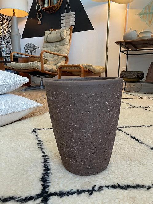 cone ceramic planter - made in ITALY