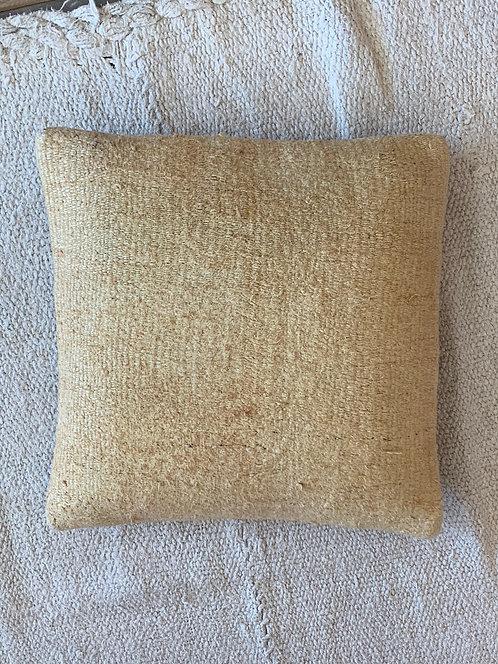 Small Mustard Hemp Pillow