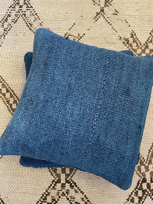 Indigo Turkish Hemp Pillows
