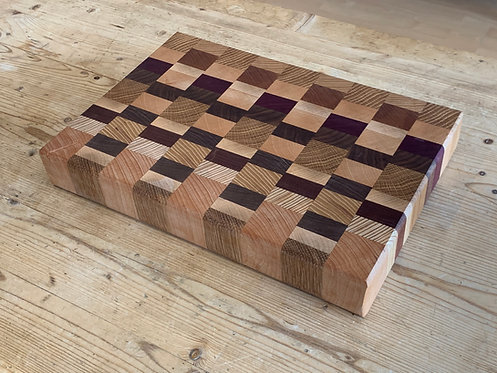 ' Solid Checkered' Handmade Cutting Board