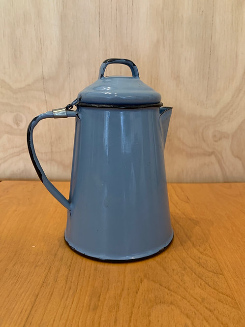 Powder Blue Enamel Tea Pot