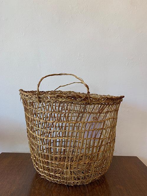 Handwoven Large Basket w/ Handles