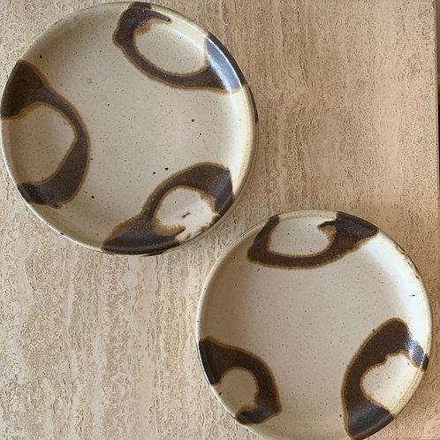 Vintage Stoneware Plates