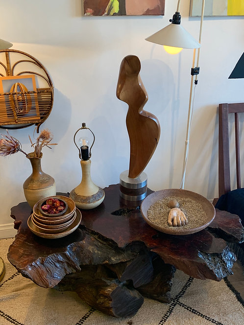 Mid Century Modern Wooden Coffee Table