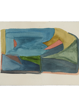 L,A, River Watercolor Study 2_7,3x10,5_No frame.png