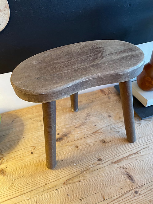 Small Wooden Bean Stool