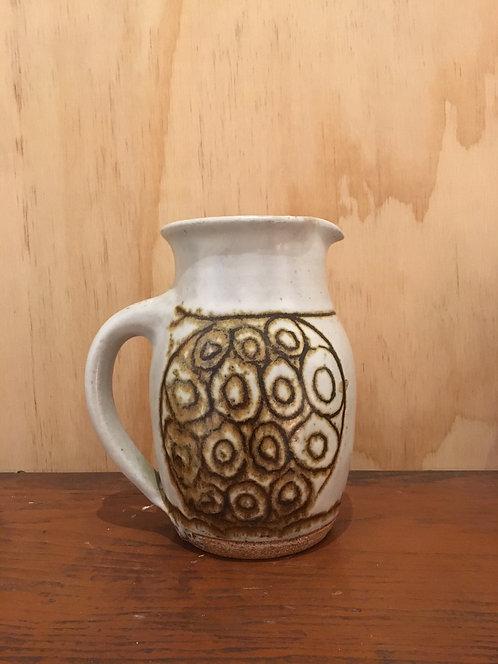 1970's ceramic pitcher