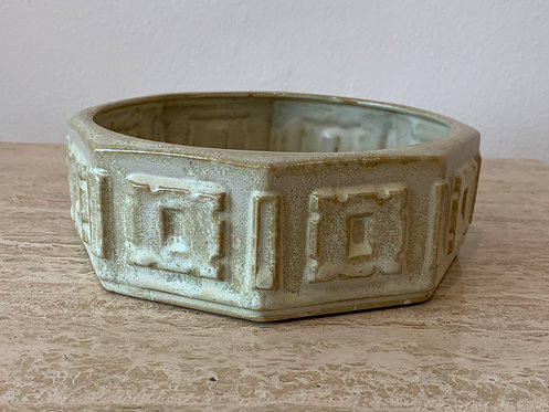"Ceramic "" Chinese Tablet"" Bowl"