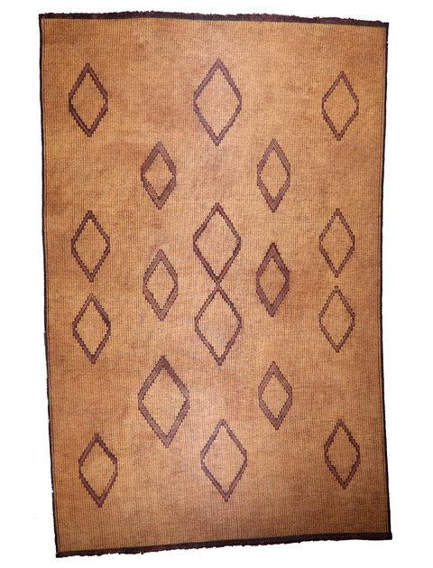 Vintage Berber Moroccan Tuareg Mat
