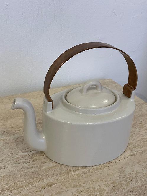 White Ceramic Danish Tea Pot