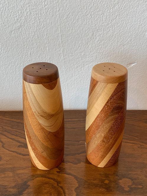 Wooden Salt & Pepper Shaker