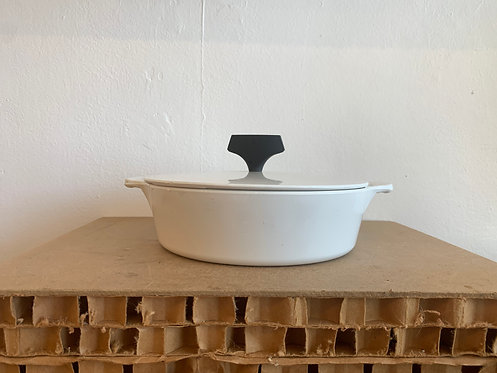 Med White Casserole Dish