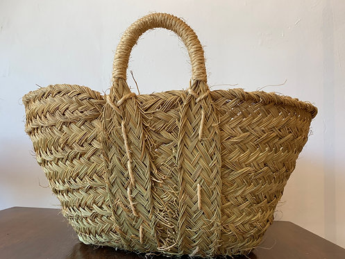 Alpha Grass Low Basket - Medium