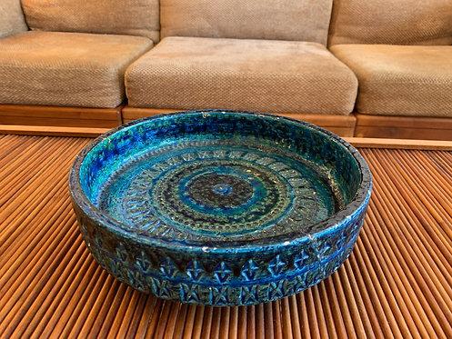 Italian Blue And Green Ashtray/ Dish