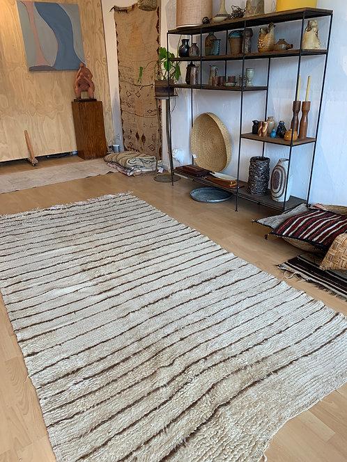 Vintage Moroccan Beniourian Stripe Rug