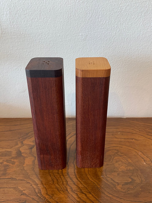 Handmade Wooden Salt & Pepper Shaker