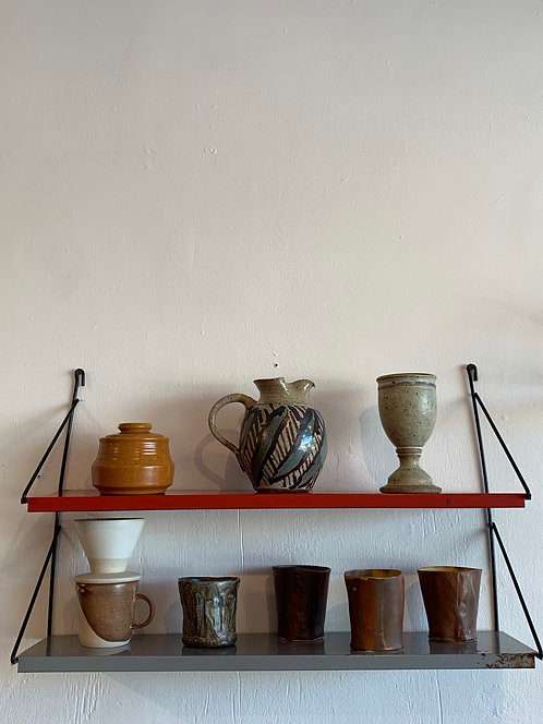 Industrial French String Shelves