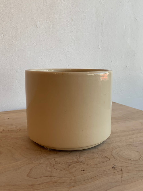 Cream Small Gainey Planter