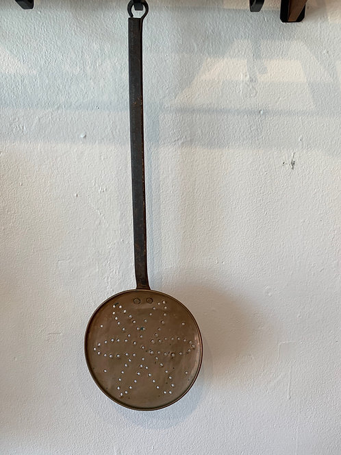 Hand Hammered Copper ' Flower' Ladle - Made in Portugal