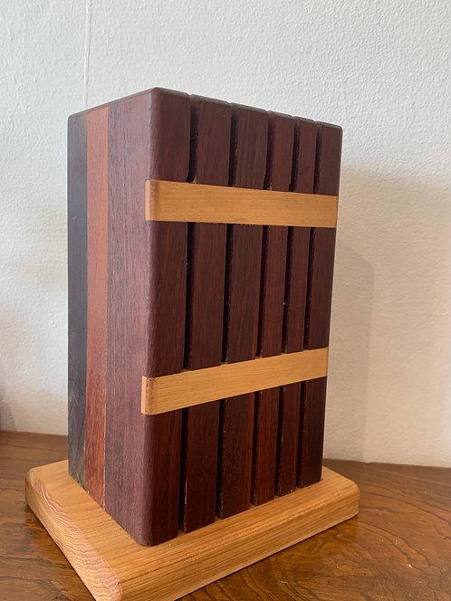 Handmade Wooden  Knife Holder