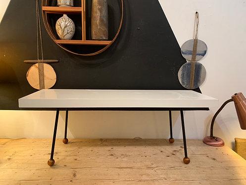 Vintage Table w/ Iron Legs