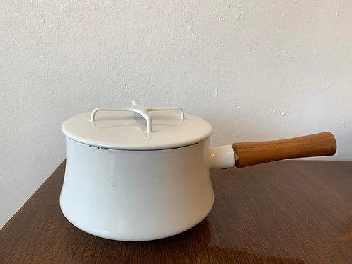 White Dansk Kitchen Pot w/ lid