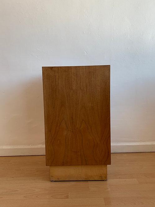 Mid Century Plywood Pedestal