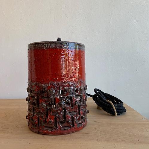 West German Ceramic Pendant Light