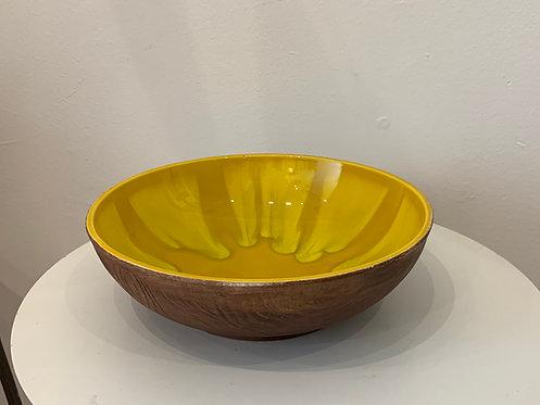 Yellow Ceramic California Bowl