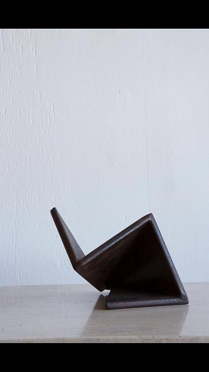 Abstract Bent Metal Sculpture