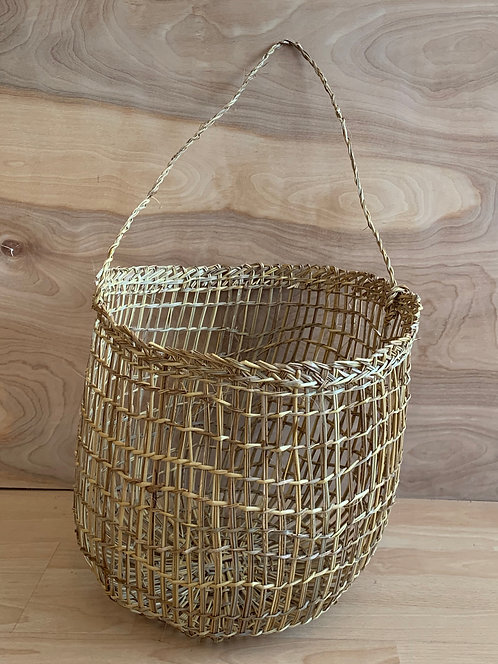XLG Handwoven ' Bucket Basket'- Made in Chile