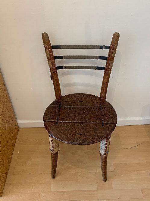 Wooden/ Metal/ Rope Chair