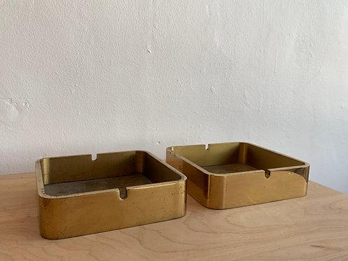 Solid Brass Ashtray / Dish