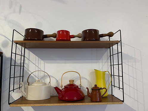 Danish Wooden String Shelves