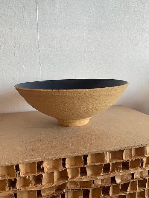 Ceramic Minimal Low Bowl