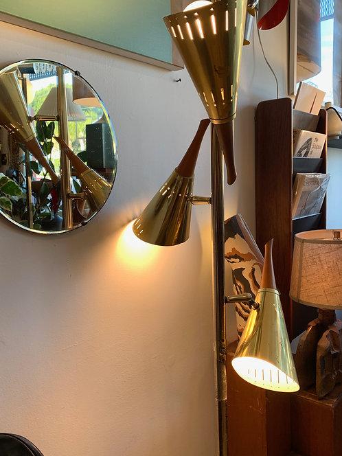 Mid Century Modern Brass  Lamp