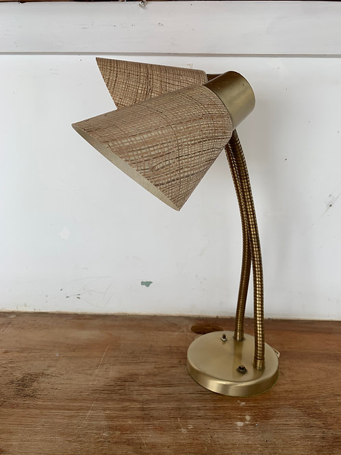 1950's double desk lamp