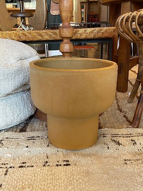 Mustard MCM Ceramic Planter