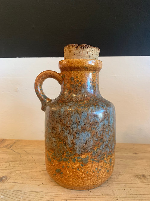 West German Jug w/ Cork