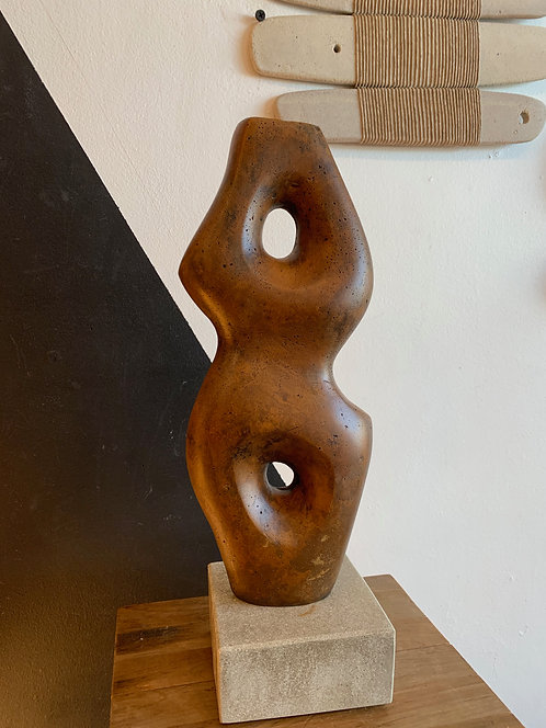 French Ceramic Abstract Sculpture